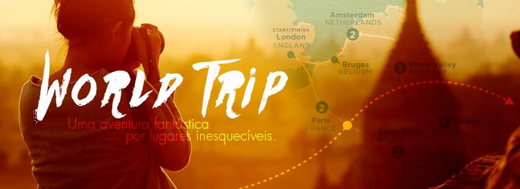 World Trip - Terceiro Destaque de Maio