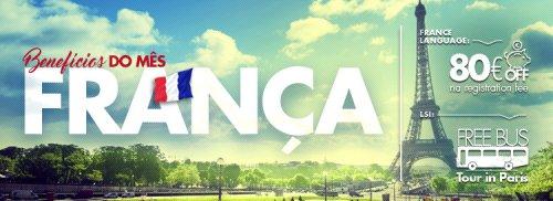 Matricule-se em um intercâmbio na França e ganhe benefícios exclusivos!