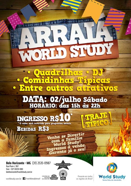Arraiá World Study