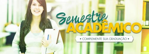 Estude um semestre acadêmico em uma universidade no exterior!